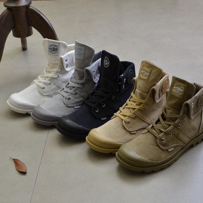 SHIHENG giày vải 2019 mùa thu và mùa đông giày quân sự ngoài trời giày vải cao cấp nam Martin Martin