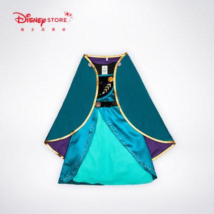 Disney Trang phục dạ hôi trẻ em Disney Princess Frozen 2 Aishana Movie cùng váy váy váy công chúa vá