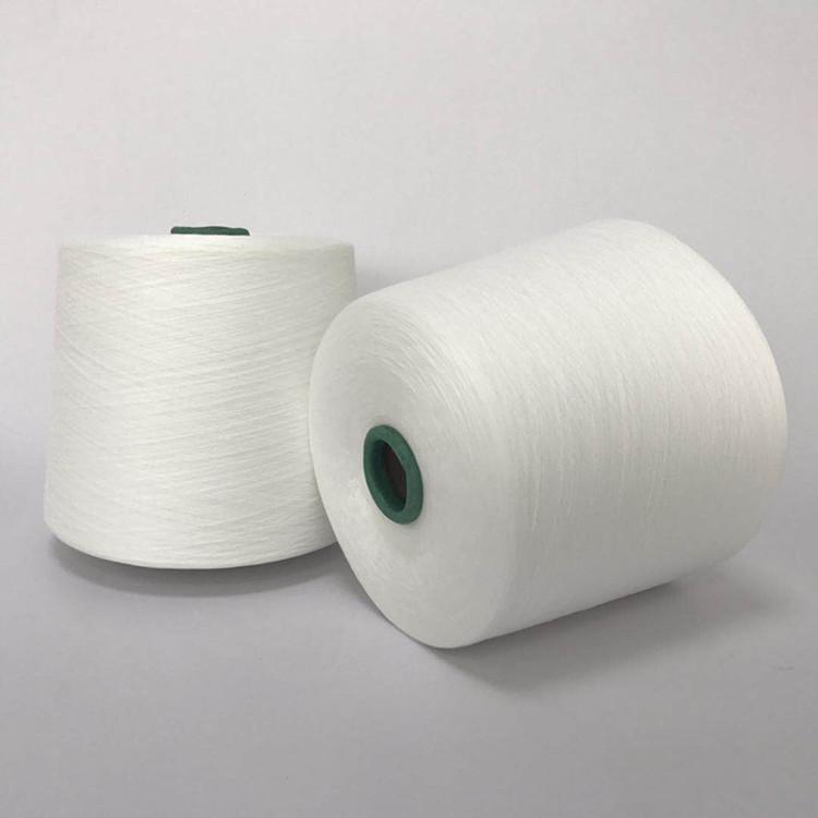 HENGZE Sợi pha , sợi tổng hợp Sợi polyester / bông 40 đếm sợi ply sợi đơn TC65 / 35 tỷ lệ tc sợi 40S
