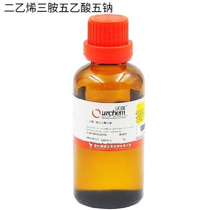 Thuốc thử  Diethylenetriamine pentaacetic acid pentasodium 40% 50g 140-01-2
