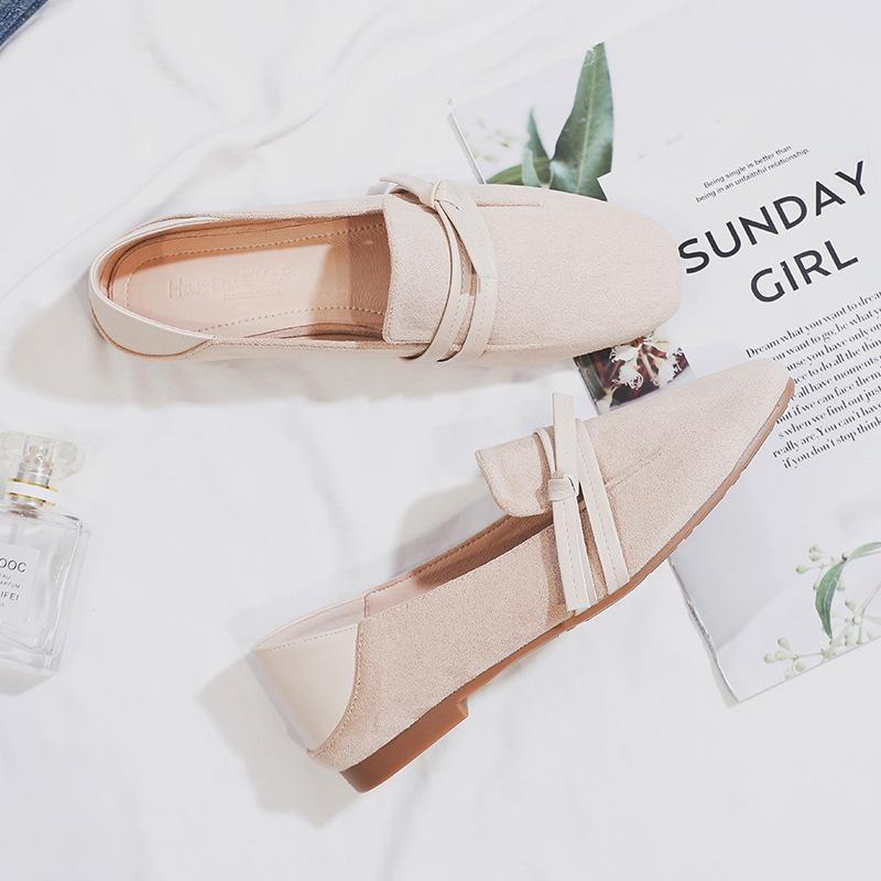 Giày lười bằng da kiểu dáng thời trang cho nữ