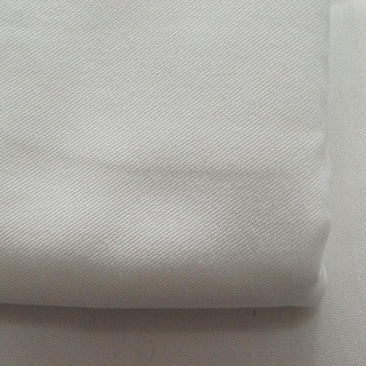 LTSH Vải mộc pha Vải cotton polyester, vải pha trộn màu xám, vải áo cao cấp, vải dụng cụ