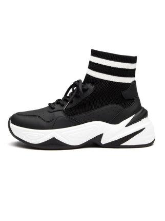 REDDRAGONFLY Giày bánh mì Giày chuồn chuồn đỏ nữ cao cấp 2019 giày cotton mùa đông mới vớ muffin với