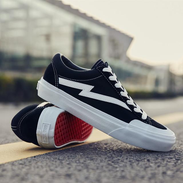 SNIPER TREE Giày Sneaker / Giày trượt ván2020 sáng tạo mới giày lưu hóa thủ công cổ điển đôi giày th