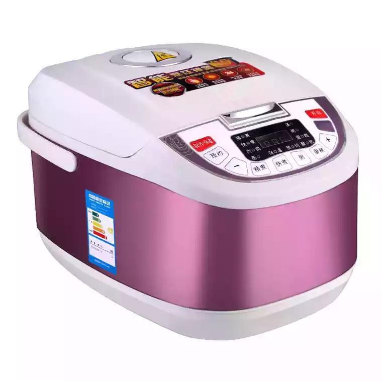 Đồ điện gia dụng Bếp nhỏ Thiết bị nấu ăn đa năng Nồi cơm điện gia dụng 5L Honeycomb liner Smart Squa