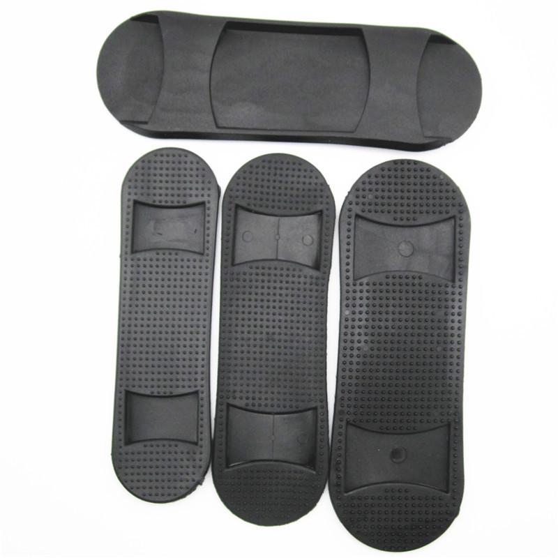 đệm vai áo Nhà máy sản xuất hành lý trực tiếp phụ kiện nhựa hình bầu dục chống trượt vai pad nhựa PV