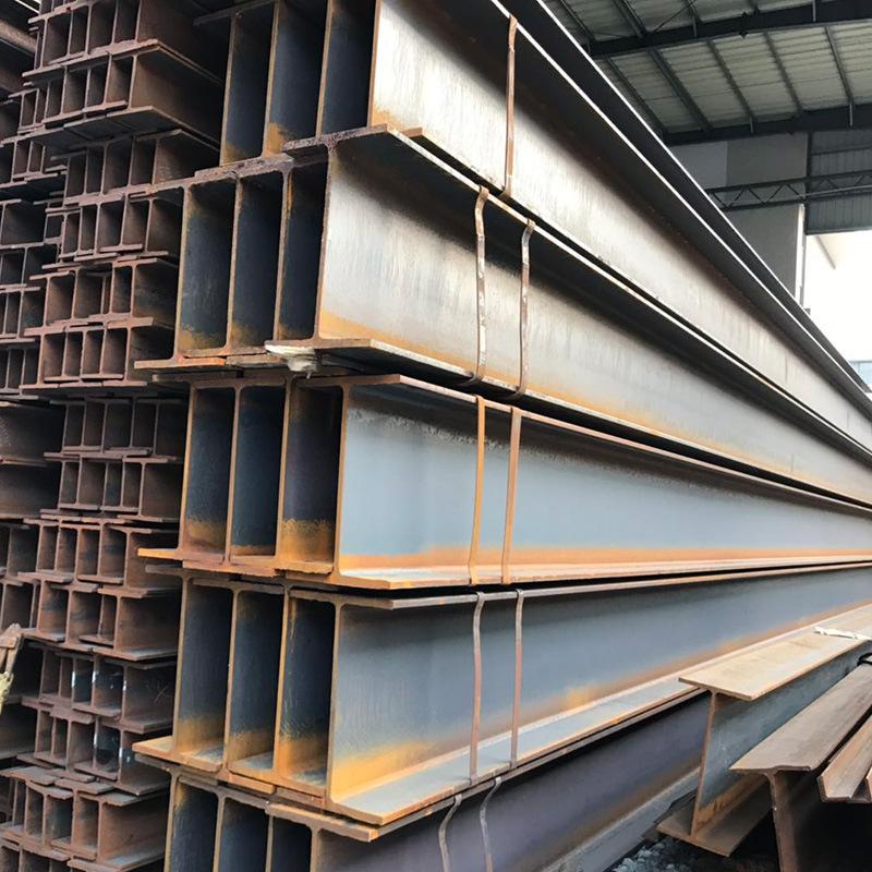Thị trường sắt thép Hồ sơ thép Phật Sơn nhà sản xuất thép mạ kẽm H3 q345d cán nóng kết cấu dầm thép