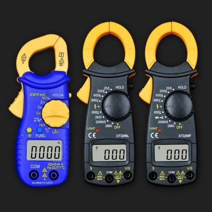 BONDHUS Đồng hồ đo điện Đa chức năng kẹp đồng hồ vạn năng hiển thị kỹ thuật số tụ điện chính xác cao