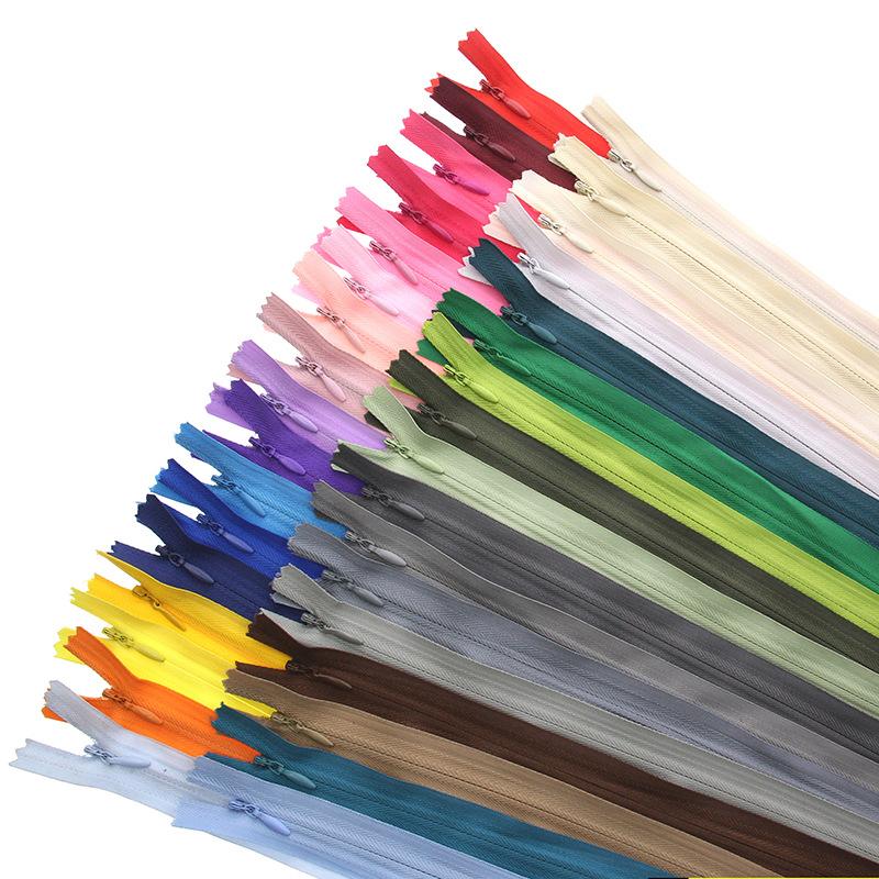 BANGYUAN Dây kéo Nylon 3 # nylon dây kéo vô hình đóng đuôi dây kéo nhà dệt quilt bìa gối dây kéo quầ