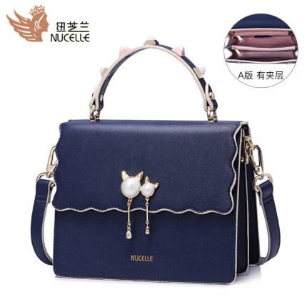 Túi xách thời trang cho nữ màu xanh New Zealand .