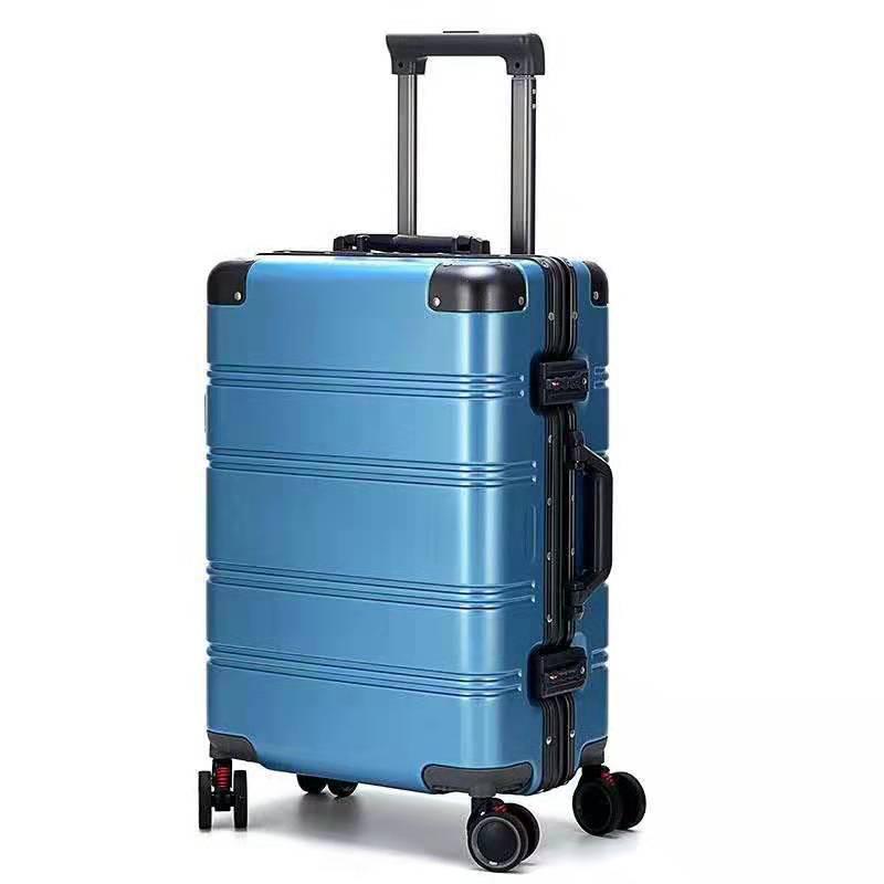 Vali hành lý du lịch khung nhôm hợp kim có bánh xe đẩy .