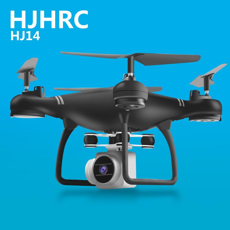 HJHRC Máy bay không người lái bốn trục HJ14W HJ14Q Máy bay điều khiển từ xa HD Chụp ảnh trên không F