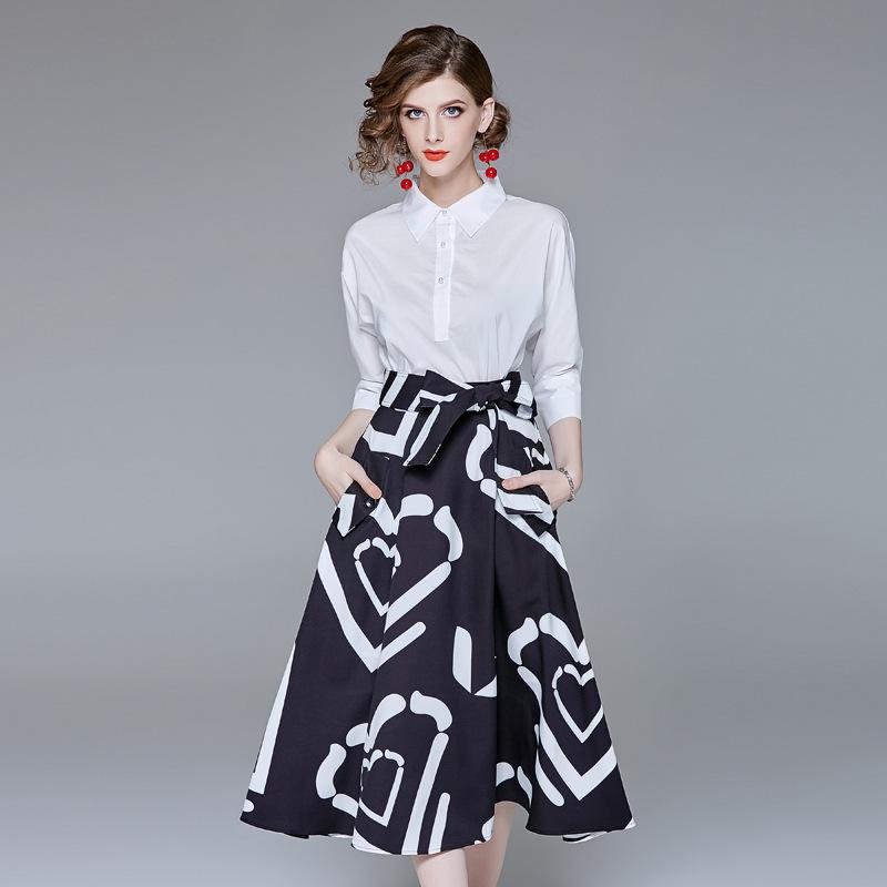 MULTIFLORA Đồ Suits Thâm Quyến cửa hàng 2020 mùa xuân và mùa hè mới chuyên nghiệp áo sơ mi trắng tin