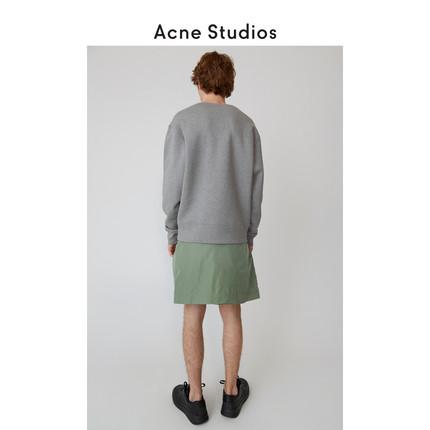 Acne Studios Sweater (Áo nỉ chui đầu)  Acne Studios Fairview Mặt áo len cotton cổ thuyền phi hành đ