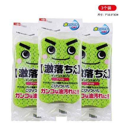 LEC Mút  Nhật Bản LEC Dishwashing Sponge Cleaner Hộ gia đình Bàn chải Magic Magic Cleaner Bàn chải k