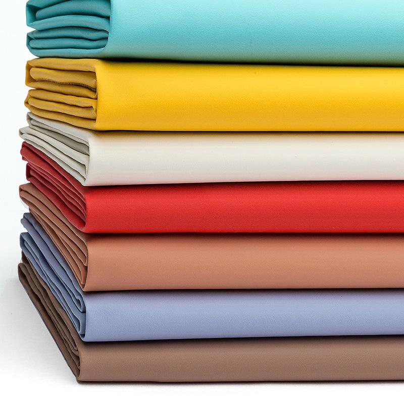ZHELONG Vật liệu da Chải dày 0,7mm Nappa PVC da vải sofa mềm túi sofa da nhân tạo phổ quát chất liệu