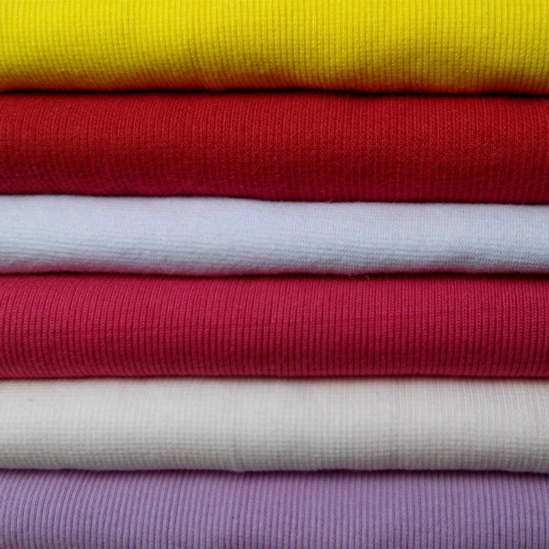 CHENFEI Vải Rib bo Cung cấp liền mạch sườn sườn dệt kim sáng tạo vải dệt kim sườn đan 1 * 12 * 2 vải