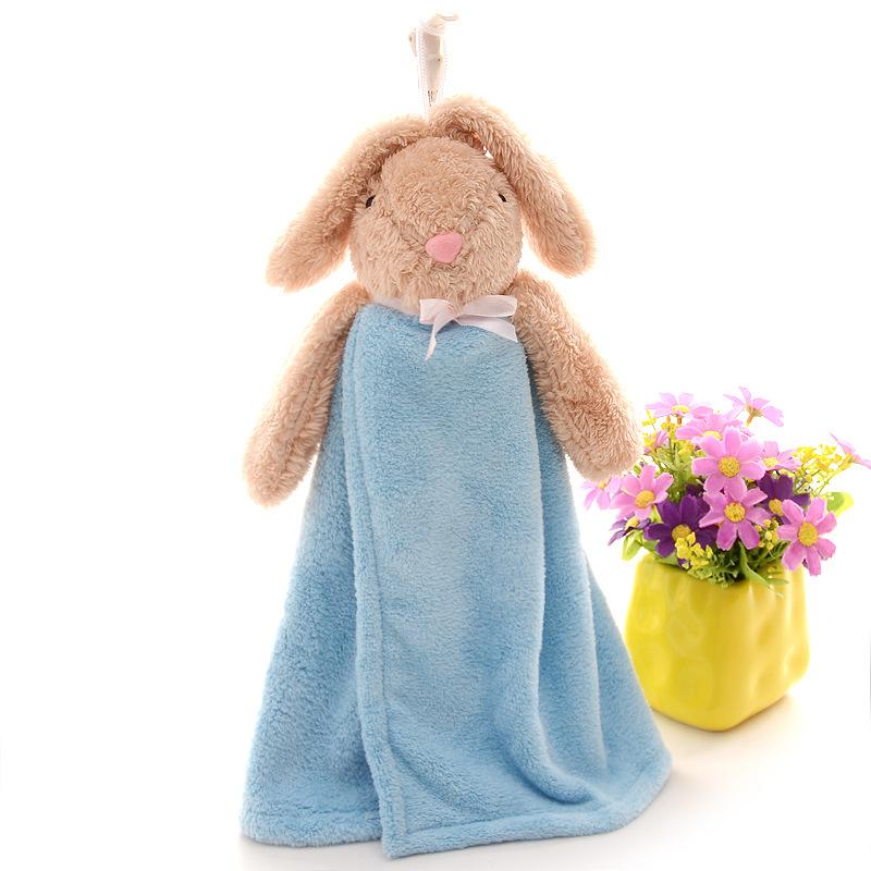 khăn lau tay Xuất khẩu sang Nhật Bản Siêu dễ thương phim hoạt hình nổi tiếng thỏ nhà bếp phòng tắm d