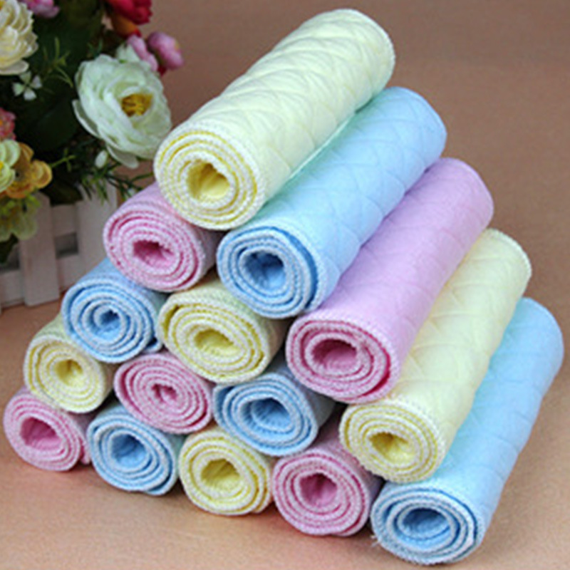 ZHUXIAOTAO Tả vải Tã cho bé sơ sinh Tã trẻ em siêu mỏng thoáng khí cotton mùa hè có thể giặt nam và