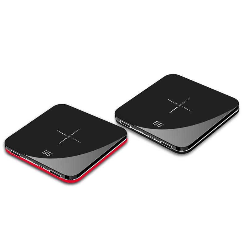 LVSHA Pin sạc dự bị Ngân hàng điện 20000 mAh sạc nhanh ngân hàng điện thoại di động mini sạc không d