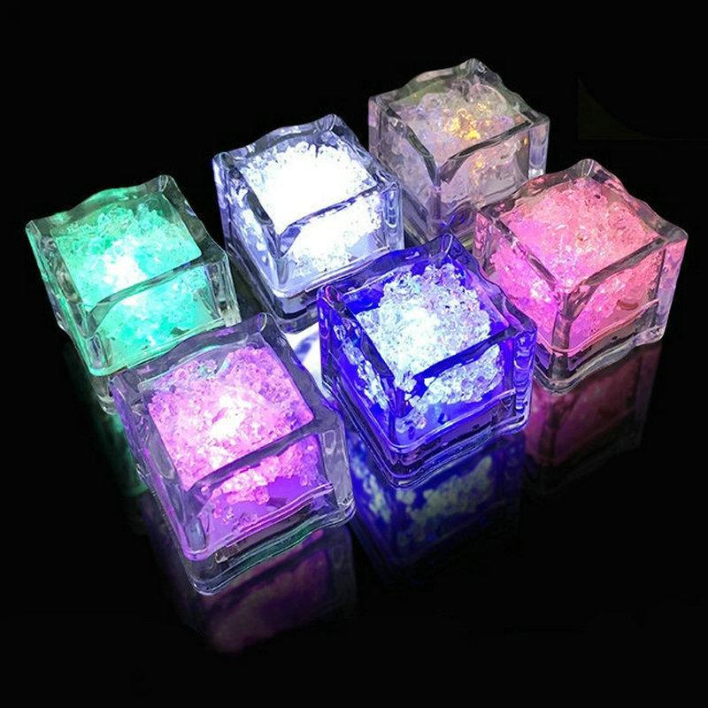 PENGXIANG Đồ chơi phát sáng Bar KTV khối băng phát sáng đồ chơi phát sáng là sáng khi vào nước LED đ