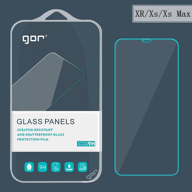 GOR Miếng dán cường lực cho iPhone 11 kính cường lực iPhone Xs Max phim kính Apple XR bảo vệ điện th
