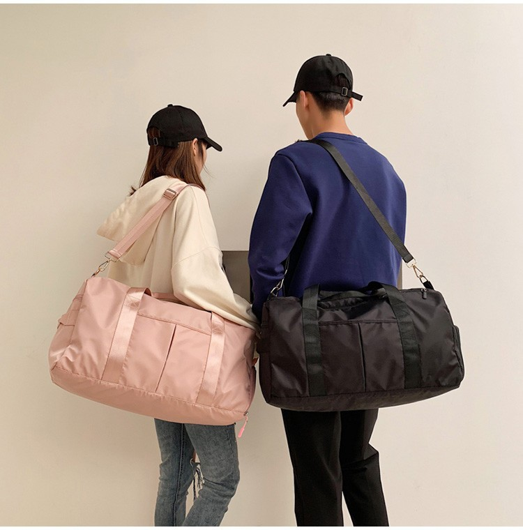 Túi xách du lịch Nhà máy trực tiếp tùy chỉnh LOGO ướt và khô tách thể thao nữ túi thể dục xách tay t