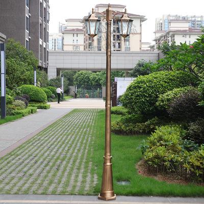 CHARR Đèn LED sân vườn Phong cách châu Âu đèn sân vườn ngoài trời không thấm nước biệt thự ngoài trờ