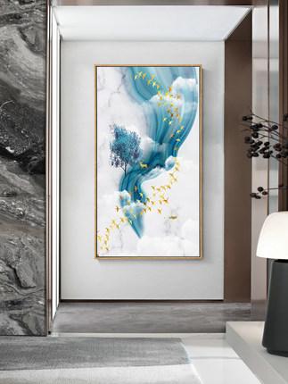 Lange Tranh trang trí  Lối vào hiên trang trí bức tranh dọc phiên bản hành lang lối đi bức tranh tườ