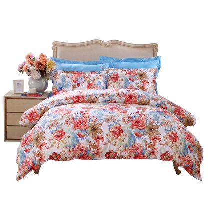 Fuanna drap mền  bông chăn bao gồm chăn đơn chăn gối chăn ga gối bông đơn đặt giường đôi mùa đông