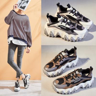 JIAOBAIXUAN giày bánh mì / giày Platform Giày đế dày của phụ nữ 2020 mùa xuân phiên bản mới của Hàn