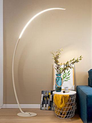 Mingzun Đèn âm đất  Đèn sàn phòng khách hiện đại đơn giản hiện đại net đỏ led đầu giường đèn cá tính