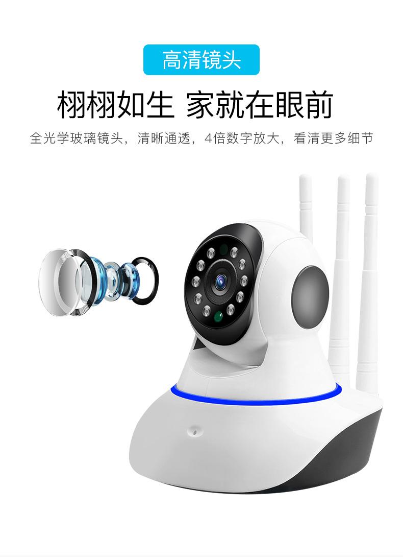 Camera không dây wifi giám sát mạng từ xa thông minh HD