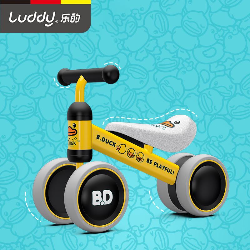 Luddy Xe tập đi Le Children Taxi Walker 1-2 tuổi Quà tặng sinh nhật cho bé