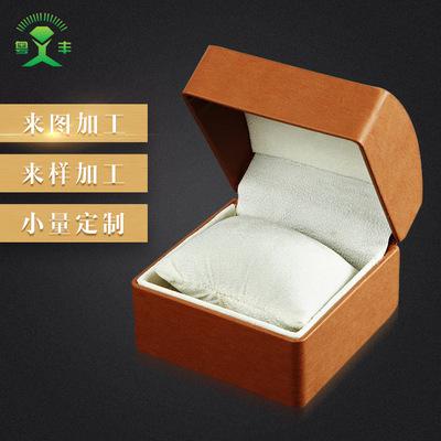YUEFENG Hộp da Thời trang đơn giản cao cấp đồng hồ trang sức pu da lật hộp sáng tạo duy nhất trang s