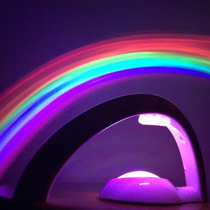 DATOUREN Đèn tường Thế hệ thứ hai Máy chiếu Rainbow Máy chiếu ánh sáng Nhà máy Hình dạng trứng Cầu v