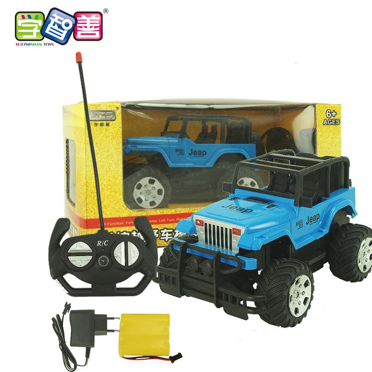 Xe điều khiển từ xa 1:22 xe jeep học thông minh trẻ em sạc xe địa hình điều khiển từ xa xe ô tô đồ c