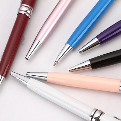 SHICHEN Bút bi Bán nóng kim loại bút bi quảng cáo quà tặng bút đơn giản kinh doanh bút văn phòng xoa