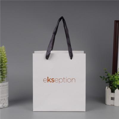 SHUQIE Túi giấy Một loạt các bao bì quần áo mua sắm túi xách tay phổ dụng túi giấy kraft hình chữ nh