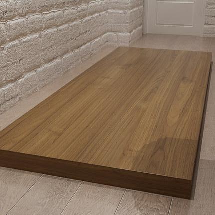 Boyi Rong Ván gỗ  Ván gỗ cứng cũ elm gỗ tùy chỉnh toàn bộ bàn hình chữ nhật bảng lớn bảng trà cửa sổ
