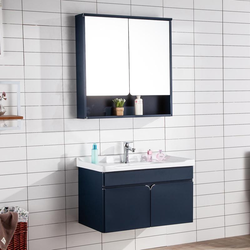 XHOPIN Tủ phòng tắm vanity phòng tắm kết hợp tủ vanity vanity thép không gỉ phòng tắm tủ phòng tắm t