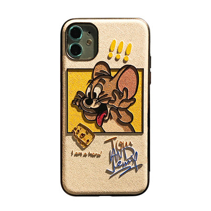 Eyestar Ốp lưng Iphone 6 Phô mai jerry chuột táo xr điện thoại di động trường hợp vui nhộn phim hoạ