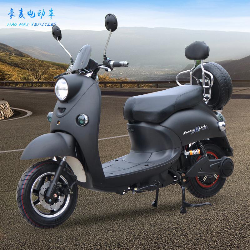 XINLING xe môtô / xe máy Vua rùa nhỏ người lớn 60v pin lithium xe điện 72v điện cao đạp xe đạp pin x