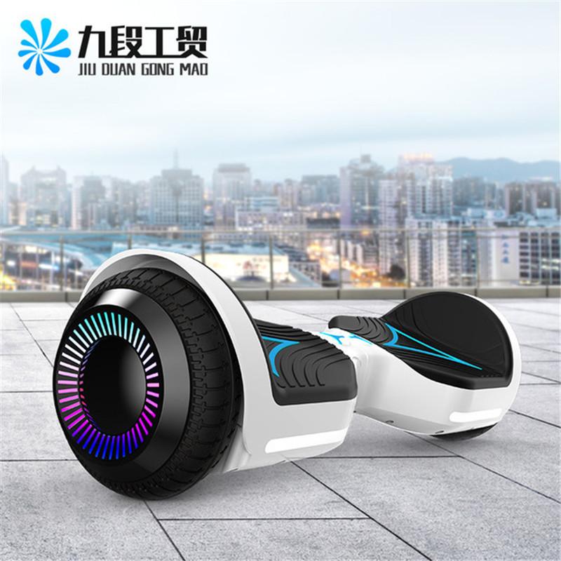 LIXIANG Xe điện 2 bánh tự cân bằng Cân bằng thông minh Xe đạp Hai bánh 6,5 inch Suy nghĩ di động Âm