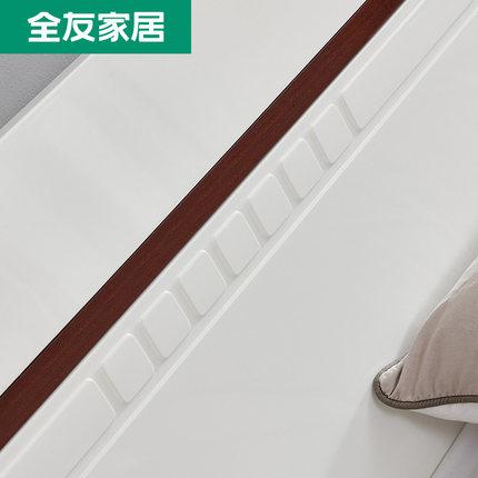 giường  Tất cả nội thất bạn bè Bắc Âu Đơn giản 1,8m 1,5m Giường đôi Nội thất phòng ngủ Bảng điều khi