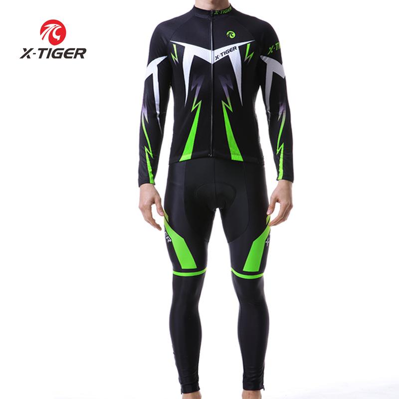 Quần áo mau khô x-tiger đi xe đạp phù hợp với nam phù hợp với mùa xuân và mùa thu xe đạp leo núi nha