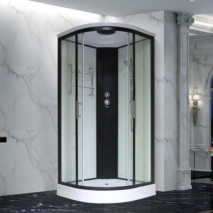 Yuan Green Bồn đứng tắm  Phòng tắm tích hợp phòng tắm tích hợp hộ gia đình hình vòng cung quạt có th