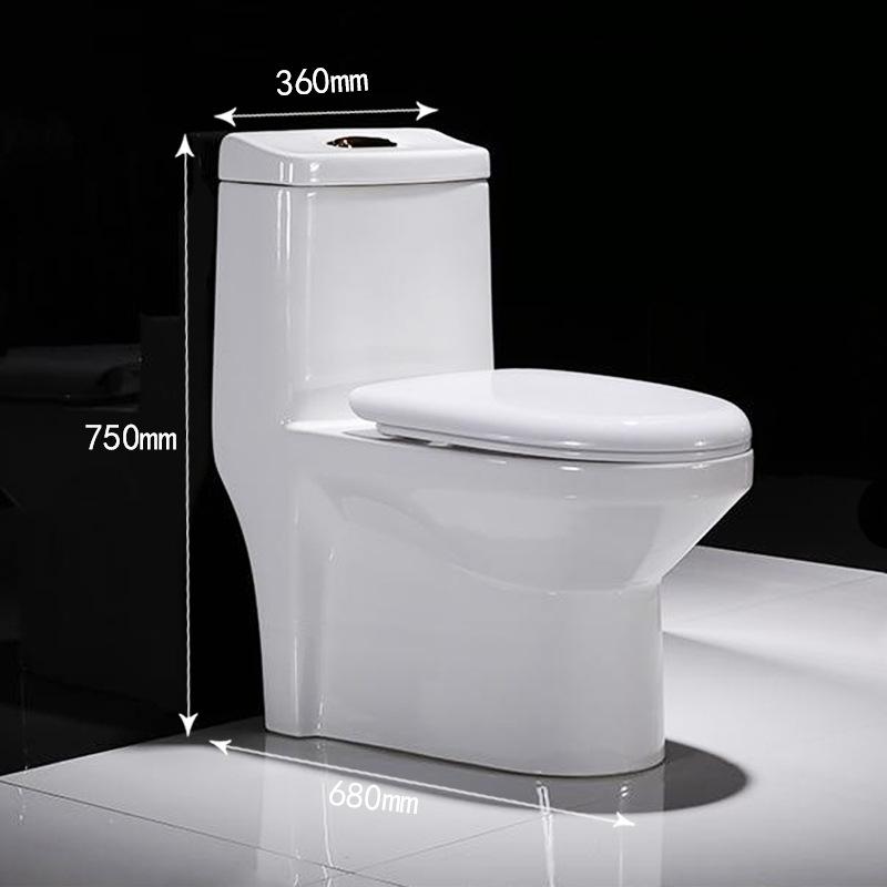 ANNA Bồn cầu Sứ Châu vệ sinh hộ gia đình Thông thường nhà vệ sinh bơm gốm Nhà vệ sinh một mảnh tùy c