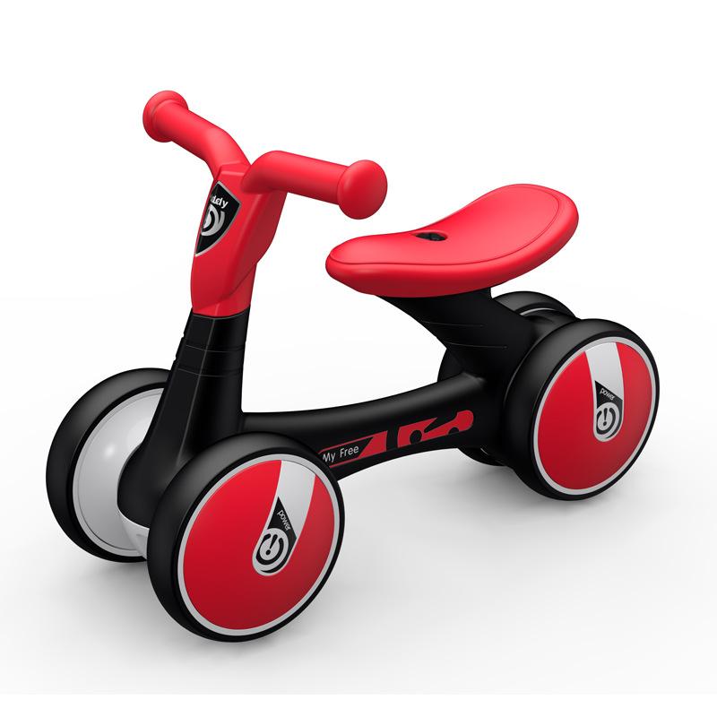 Luddy Xe tập đi Le 1006 Xe đạp cân bằng cho trẻ em 1-3 tuổi Twist Baby Cân bằng xe đạp Taxi Walker M