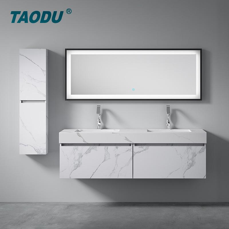 Bienbathroom Tủ phòng tắm Nhà máy bán hàng trực tiếp đơn giản hiện đại nordic treo tường nhiều lớp g